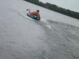 белое озеро...на таблетке катаюсь!!!